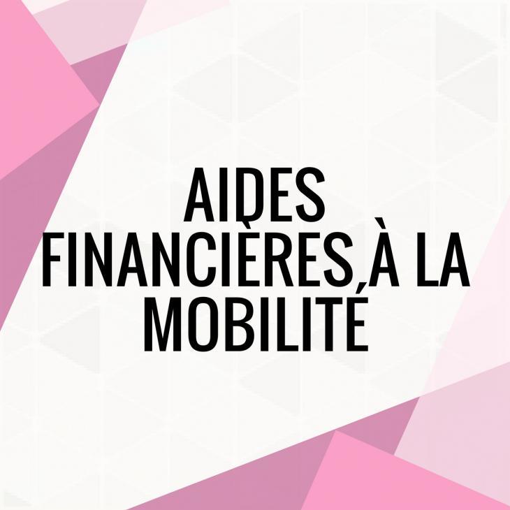 visuel d'aides financière à la mobilité